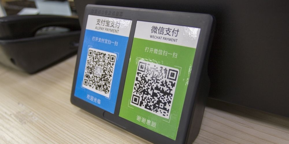 qr code usage in china